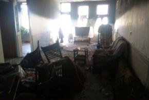 نشت گاز شهری و انفجار منزل مسکونی