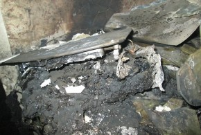 دستگاه سشوار منزل مسکونی را به آتش کشید