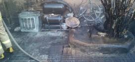 حریق منزل مسکونی در بلوار بسیج