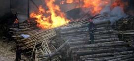 ایمنی انبارهای صنعتی در برابر آتش سوزی
