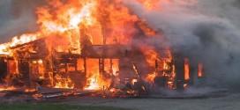 خروج از منزل در زمان آتش سوزی