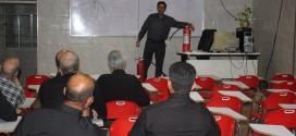 تشکیل کلاس آموزش ایمنی برای مسئولین هیئتهای مذهبی در سازمان آتش نشانی جهت ماه محرم