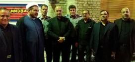 شرکت پرسنل آتش نشانی در مراسم سوگواری شهادت امام حسین در ماه محرم
