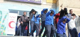 مانور سراسری زلزله در مدارس