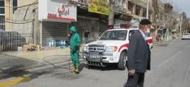 ضد عفونی و گند زدایی معابر شهری