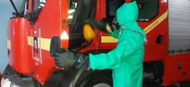 ضد عفونی نمودن ایستگاهای آتش نشانی