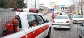اجرای طرح ضد عفونی وگند زدایی اماکن عمومی توسط سازمان آتش نشانی همچنان ادامه دارد