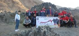 صعود پرسنل عملیاتی سازمان آتش نشانی به ارتفاعات کوه گرمه بمناسبت ۷ مهر (روز آتش نشانی)