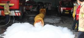 آموزش و تمرین با دستگاه توربکس اطفاء حریق